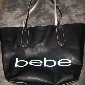 Black & White Bebe Purse